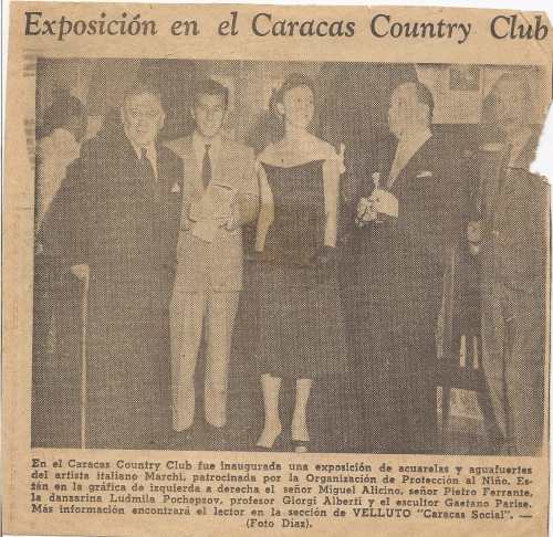 Exposure in Carcas Country Club