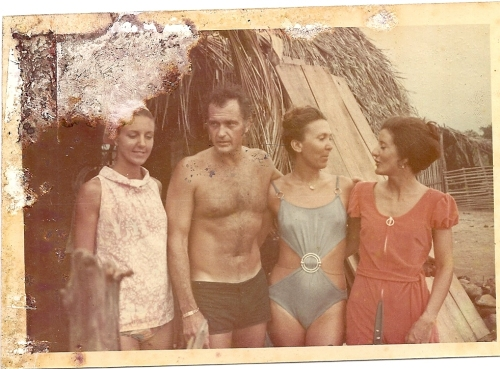 Arturo Hanzel and daughters of Buck Rogers