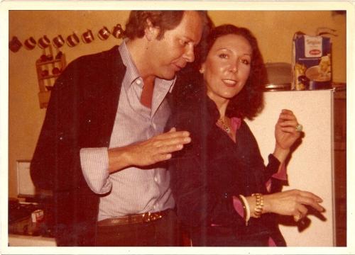 Ludmila whit a German Von Boron in Cuernavaca