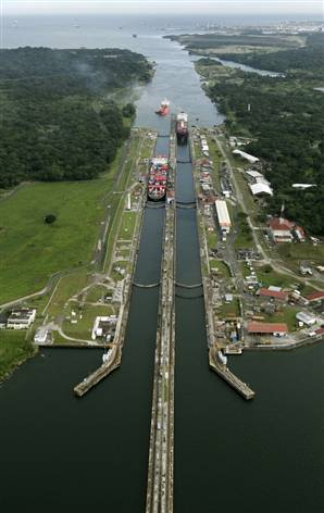 Canal de Panama in that time look like this