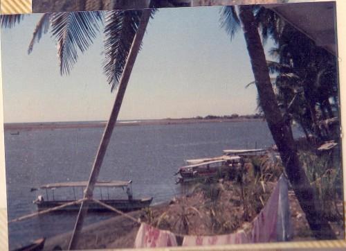 "'El Tapon de Darien"" nears port  on one of the rivers"
